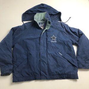 Vintage 90s Carl Banks Dallas Cowboys Jacket Large